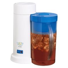 Mr. Coffee Iced Tea Maker...this makes the PERFECT sweet, only $20! love mine