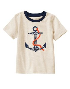 Atlantic Skipper Anchor Tee at Gymboree Collection Name: Fresh Catch (2015)