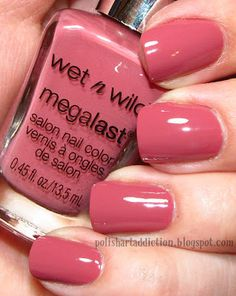 Cute neutral color Polish Art Addict- wet n wild undercover Get Nails, How To Do Nails, Hair And Nails, Nail Polish Art, Nail Polish Colors, Nail Art, Pretty Nail Colors, Pretty Nails, Perfect Nails