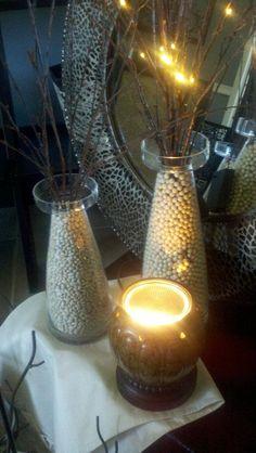 Decor Idea...use light to create ambiance