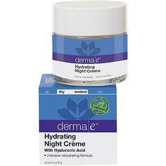 Derma EHydrating Night Cream with Hyaluronic Acid