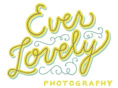 Ever Lovely Photography logo by Mary Kate McDevitt