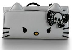 Amazon.com: Hello Kitty Angry Face Wallet [Apparel]: Clothing $29.99