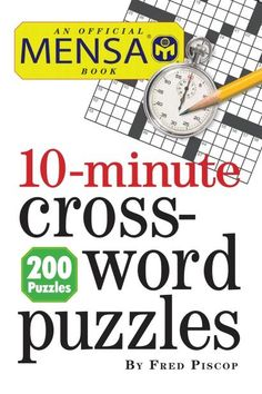 10-minute crossword puzzles