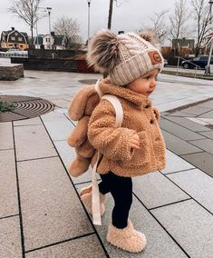 Winter Baby Clothes, Winter Outfits For Girls, Baby Girl Winter, Cute Baby Girl Outfits, Cute Baby Clothes, Toddler Outfits, Stylish Baby Girls, Baby Boy, Baby Clothes For Girls