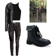Octavia Blake by allydewitt on Polyvore featuring mode, Zizzi, H&M and Aéropostale