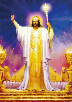 Serapis Bey Hierarch of the Third Pink Ray by Marius Michael George