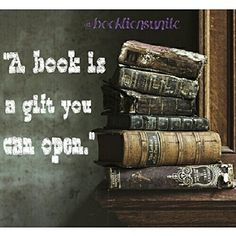 My favorite gifts are books by one of my favorite authors!
