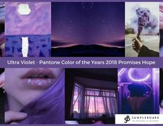 Ultra Violet – Pantone Color of the Year 2018 Promises Hope