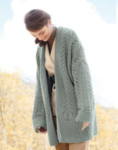 Lana Grossa JACKET Tre Seta - FILATI CLASSICI No. 17 - Knitting instructions (EN) - Design 15 | FILATI Online Shop