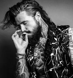 Hot Guys Smoking, Smoking Kills, Sexy Tattooed Men, Stylish Mens Fashion, Inked Men, Sexy Men, Hot Men, Gypsy Style, Hottest Models