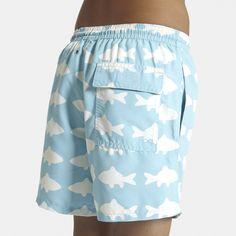 50% Off Tom & Teddy Swim Shorts Fish – Blue/White | Nipper Skipper