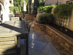 Concrete Landscaping provides an attractive look to your landscape that last for a long time. Concrete landscape are durable and easy to maintain. Patio Ideas, Landscaping Ideas, Landscape Maintenance, Concrete, Curves, Canning, Patterns, Colors, Outdoor Decor