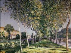 Der Spaziergang  - Alfred Sisley