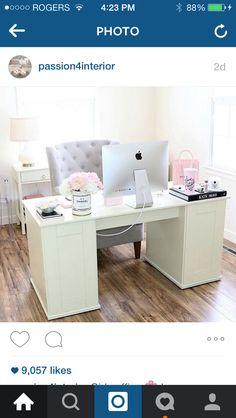 Dream girly office