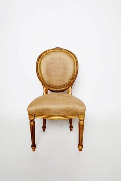 Who can resist a Louis chair?