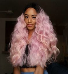 Baby pink waves..... Nice summer color. Can you agree? ✨✨ xoxoxo