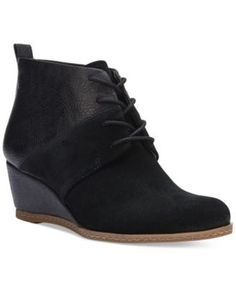 Franco Sarto Albi Wedge Lace-Up Booties