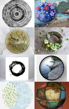 The Circle of Life by La Vie En Noir Gallery La Vie En Noir Gallery on Etsy--Pinned with TreasuryPin.com