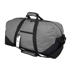Dalix Big Adventure Large Gym Sports Duffle Bag in Gray, Grey Snowboard Equipment, Backpack For Teens, Thing 1, Sport Outfits, Gym Bag, Camo, Black And Grey, Navy Blue, Adventure
