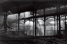 Paris:démolition des halles de Baltard en 1971 ....
