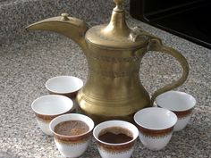 Arabic coffee with dates is the tradition of Arabs, and they offered it most social events. Description from thedunebashing.com. I searched for this on bing.com/images