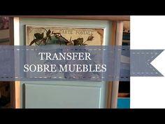 (28) COMO HACER UN TRANSFER EN UN MUEBLE - YouTube