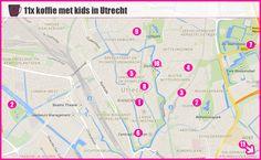 Waar in Utrecht kun je relaxt koffiedrinken met je kindjes? Ik zocht het voor je uit: 11 tips voor kindvriendelijke Utrechtse horeca.