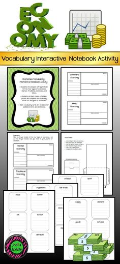 Government Vocabulary Interactive Notebook Activity Vocabulary