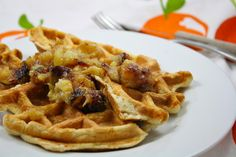 Low carb waffles...   3 egg whites, or 2 egg whites plus 1 whole egg  2 Tablespoons of coconut flour  2 Tablespoon milk of choice  1/2 teaspoon baking powder  sweetener to taste, optional    Calories: 121  Fat: 2.5 grams  Net Carbs: 3 grams  Protein: 20 grams