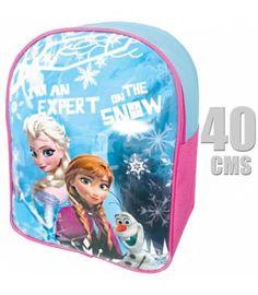 Mochila de Frozen, con licencia oficial de Disney. Esta estupenda mochila encantará a las pequeñas de la casa que sueñan con ser princesas