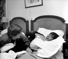 George and Ringo..true buddies and this is cute!