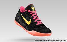 350ba51f967d black Kobe Bryant shoes Custom Basketball