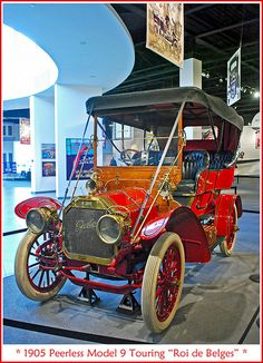 "1905 Peerless Model 9 Touring ""Roi de Belges"""