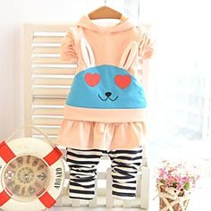 Girl's Cotton Clothing Sets