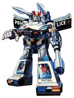 Botch's Transformers Box Art Archive - 1984Autobots Prowl