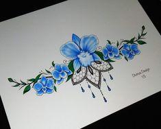 Lotus Underboob/sternum Tattoo design and Stencil Instant Sternum Tattoo Design, Dragonfly Tattoo Design, Moon Tattoo Designs, Underboob Tattoo, Abdomen Tattoo, Design Tattoos, Samoan Tattoo, Polynesian Tattoos, Tattoo Ink