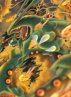 Solgaleo Pokemon, Rayquaza Pokemon, Mega Rayquaza, Pokemon Super, Pokemon Fan Art, Dark Charizard, Pokemon Fusion, Flying Type Pokemon, Pikachu Drawing