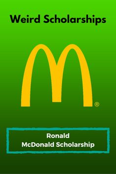 Ronald McDonald Scholarship Ronald McDonald Scholarship - College Scholarships Tips Financial Aid For College, College Fund, College Planning, College Board, Online College, Education College, College Tips, College Ready, College Checklist