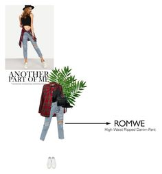 """Romwe contest!"" by ylenia ❤ liked on Polyvore featuring Off-White, Yves Saint Laurent, McQ by Alexander McQueen and romwe"