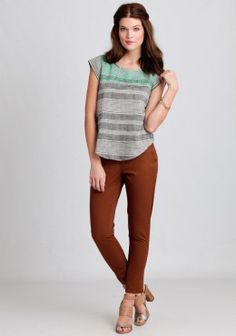 Cute Women's Pants   Ruche