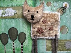 Kitty Cat by Phizzychick!, via Flickr
