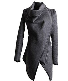 Zeagoo Fashion Women Slim Fit Woolen Coat Trench Coat Long Jacket Outwear Overcoat ((US XL(16), Grey) Zeagoo http://www.amazon.com/dp/B00O9WVFMC/ref=cm_sw_r_pi_dp_b3Nwub0MECJ88