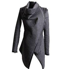 Zeagoo Fashion Women Slim Fit Woolen Coat Trench Coat Long Jacket Outwear Overcoat ((US XL(16), Grey) Zeagoo http://www.amazon.com/dp/B00O9WVFMC/ref=cm_sw_r_pi_dp_b3Nwub0MECJ88