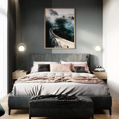 8 Cheap Things to Maximize a Small Bedroom Queen Bedroom, Home Bedroom, Bedroom Decor, Cozy Small Bedrooms, Small Living Rooms, Latest Bed, Cozy Room, Girl Decor, Cozy Place