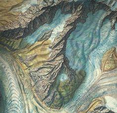 Mont Blanc, Aiguille Verte, 1953. Collectie Paul Mijksenaar.
