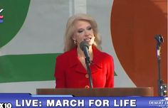 """Trump Advisor Kellyanne Conway Tells March for Life: President Donald Trump """"Stands With You"""""""