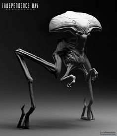 Independence Day Movie Alien Toy