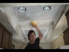 (Step 2) Replace Fluorescent Lights w/ Recessed Lights - YouTube