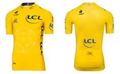Tour de France 2014   Le maillot jaune dévoilé !  lecoqsportif  letour  TDF b474c86a3